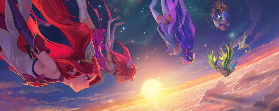 Burning Bright - Star Guardians